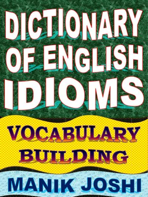 cover image of Dictionary of English Idioms