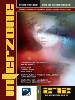 cover image of Interzone #272 (September-October 2017)