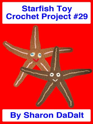 cover image of Starfish Toy Crochet Project #29