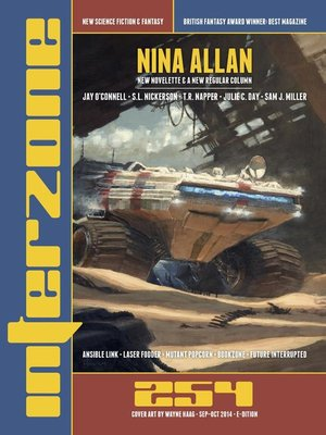 cover image of Interzone #254 Sept