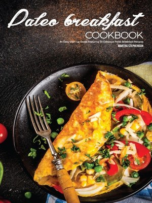 cover image of Paleo Breakfast Cookbook
