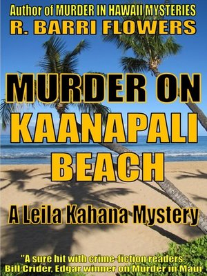 cover image of Murder on Kaanapali Beach