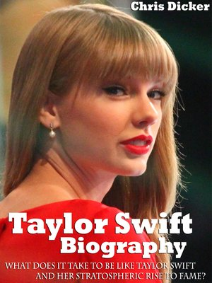 cover image of Taylor Swift Biography