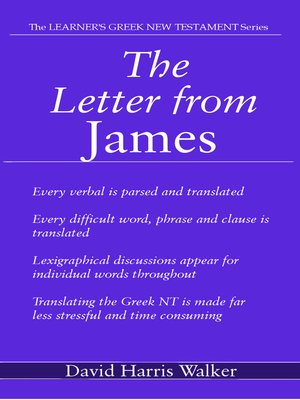 cover image of The General Epistles of James