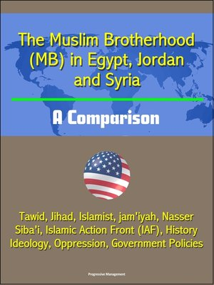 cover image of The Muslim Brotherhood (MB) in Egypt, Jordan and Syria