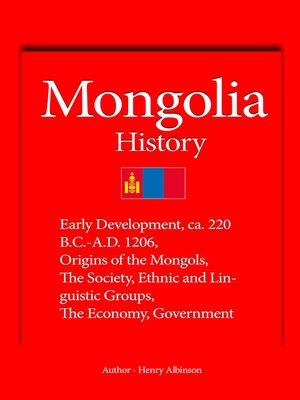 cover image of Mongolia History