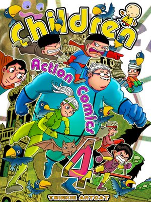 cover image of Children Action Comics 4