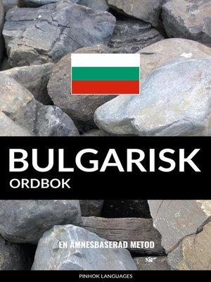 cover image of Bulgarisk ordbok