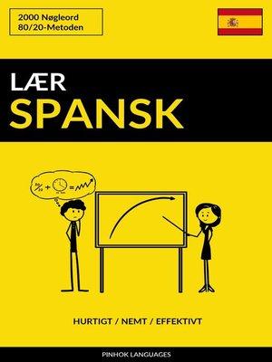 cover image of Lær Spansk