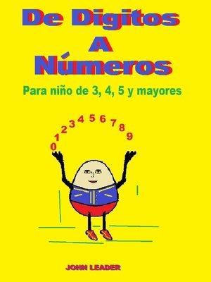 cover image of De Digitos a Nύmeros