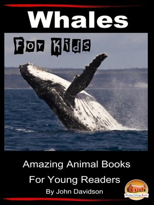 cover image of Whales For Kids