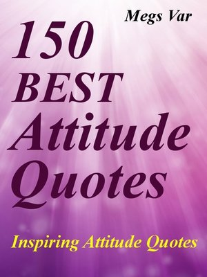 Quotes Attitude Quotes by Megs Var · OverDrive Rakuten
