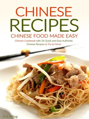 cover image of Chinese Recipes