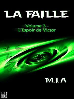 cover image of Volume 3: L'espoir de Victor