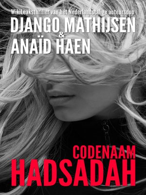 cover image of Codenaam Hadsadah