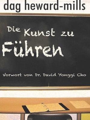 cover image of Die Kunst zu führen