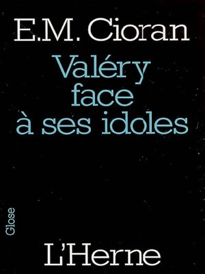 cover image of Valéry face à ses idoles