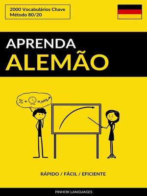 cover image of Aprenda Alemão
