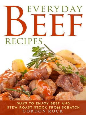 cover image of Everyday Beef Recipes