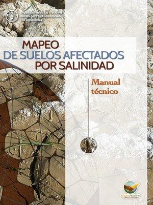 cover image of Mapeo de suelos afectados por salinidad