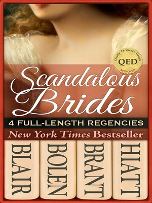 cover image of Scandalous Brides (Four Bestselling Full-Length Regency Novels)