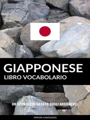cover image of Libro Vocabolario Giapponese
