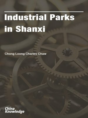 cover image of Industrial Parks in Shanxi