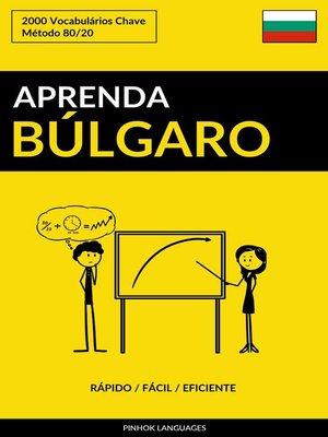 cover image of Aprenda Búlgaro