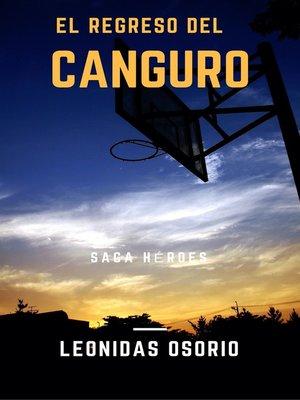 cover image of El regreso del canguro