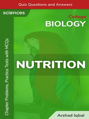 cover image of Nutrition Multiple Choice Questions and Answers (MCQs)