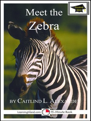 cover image of Meet the Zebra