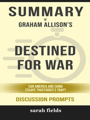 cover image of Summary of Destined for War