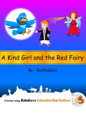 cover image of A Kind Girl and the Red Fairy