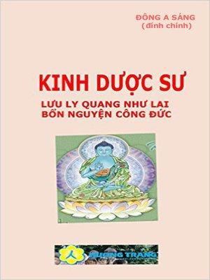 cover image of Kinh Dược Sư