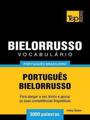cover image of Vocabulário Português Brasileiro-Bielorrusso