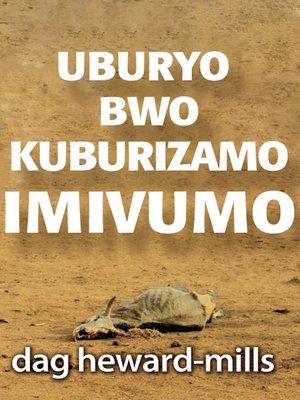 cover image of Uburyo Bwo Kuburizamo Imivumo