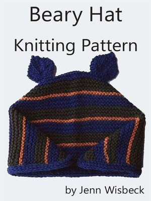 cover image of Beary Hat Knitting Pattern