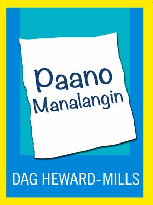 cover image of Paano Manalangin