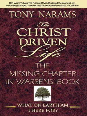 cover image of #1 the Christ Driven Life