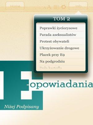 cover image of E-opowiadania [2]