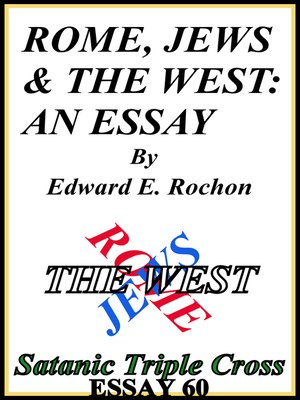 cover image of Rome, Jews & the West