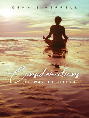 cover image of Considerations by Way of Haiku