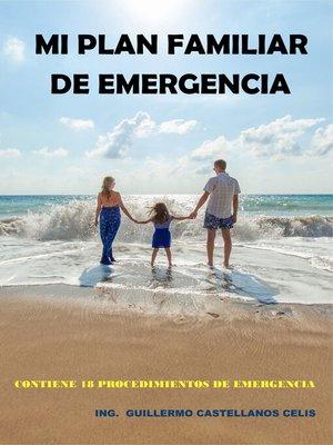 cover image of Mi plan familiar de emergencia