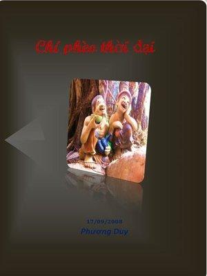 cover image of Chí phèo thời đại