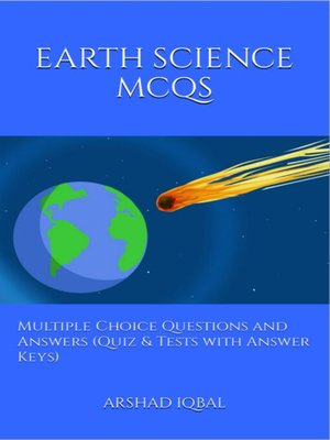 cover image of Earth Science MCQs