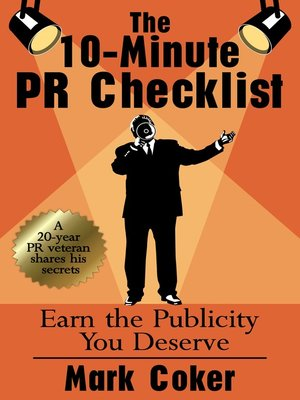 cover image of The 10-Minute PR Checklist