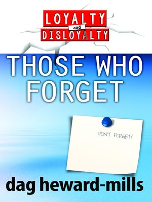 cover image of Those Who Forget