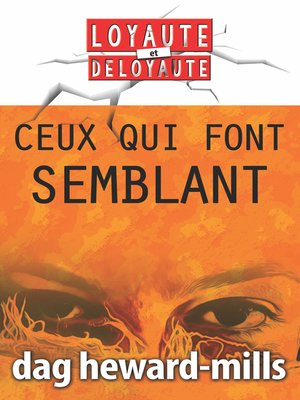 cover image of Ceux qui font semblant