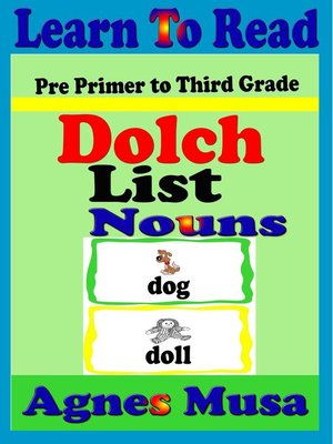 cover image of Dolch List Nouns