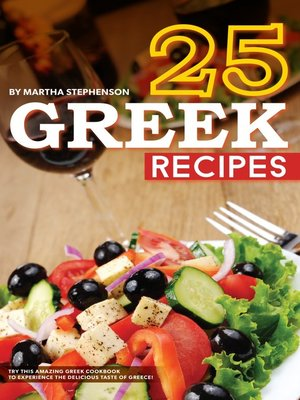 cover image of 25 Greek Recipes